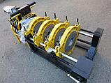 SKAT 63-200мм Редукторный механический сварочный аппарат  для стыковой пайки ПВХ труб, фото 5