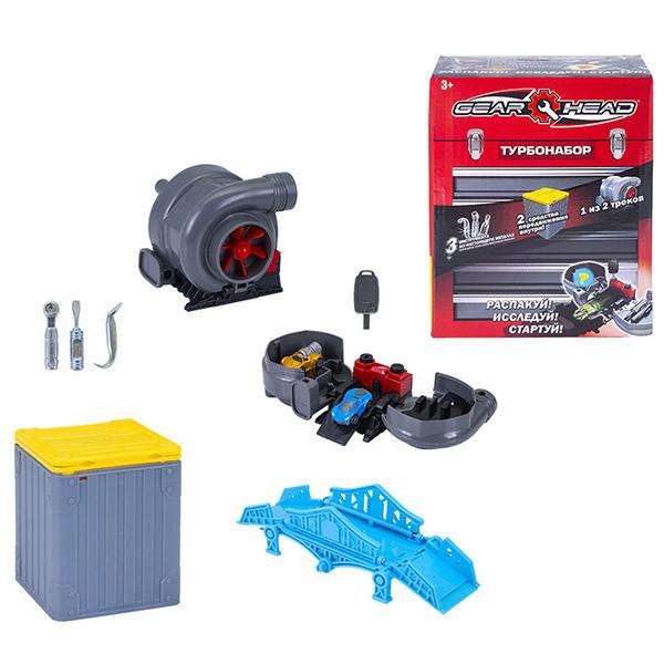 Игровой набор Gear Head c турбиной