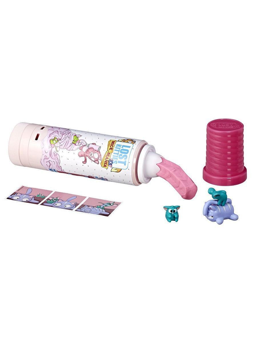 """Игровой набор Hasbro Lost Kitties """"Мышиная мания в тюбике"""""""