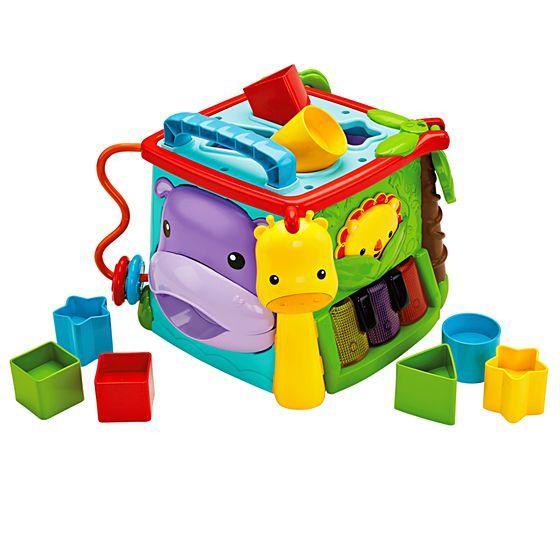 Большой музыкальный игровой куб Fisher-Price (GHT89)