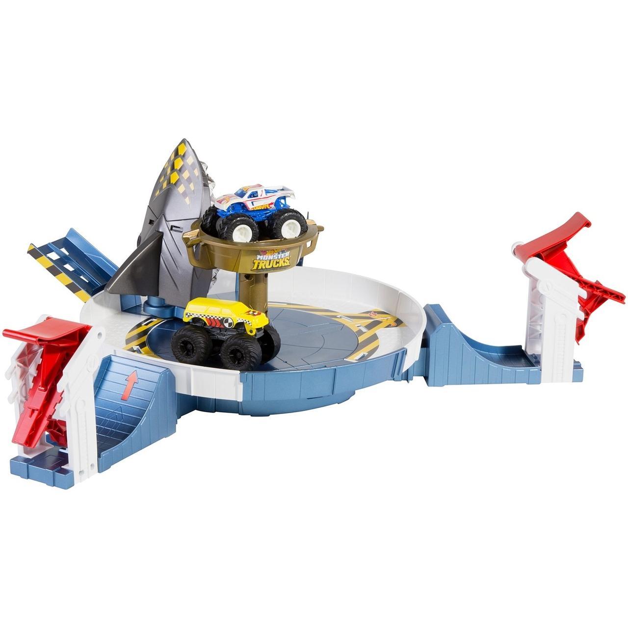 """Игровой набор Hot Wheels Монстр трак """"Поединок с акулой"""""""