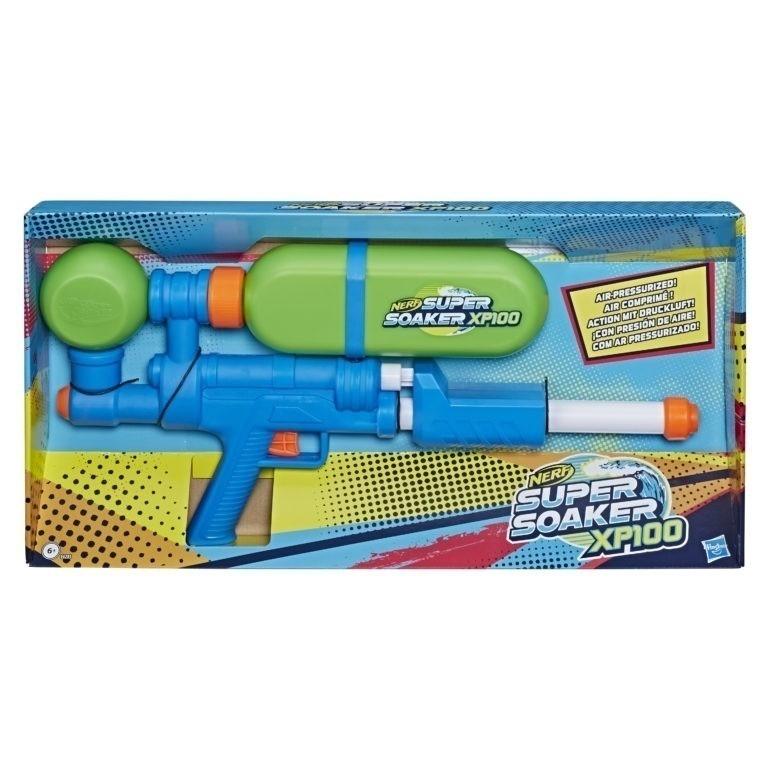 Водный бластер Nerf Суперсокер XP100 (Super Soaker)