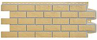 Фасадные панели Горчичный 1000x390 мм Состаренный кирпич Серия Премиум Grand Line