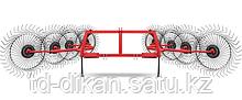 Грабли-ворошилки навесные 8-колесные АКОТ-8 (Турция)