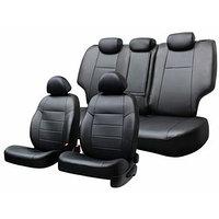 Чехлы сиденья NISSAN Qashqai 2006-2013 5мест SUV экокожа,13 предм.SKYWAY, черный