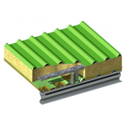 Сэндвич панели кровельные шириной 960 мм