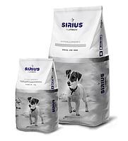 Сухой корм для собак мелких пород Sirius с индейкой и овощами