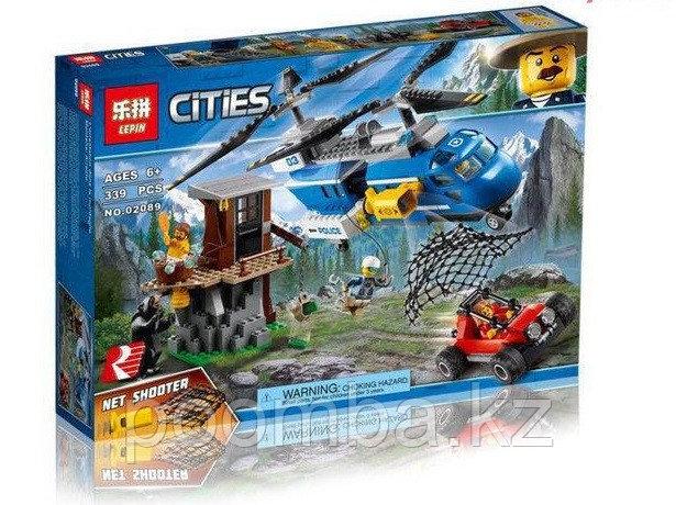 """Конструктор BELA 10863 City """"Погоня в горах"""" (аналог LEGO 60173)"""