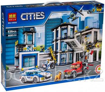 """Конструктор BELA 10660 City """"Новый Полицейский Участок"""" (аналог LEGO 60141)"""