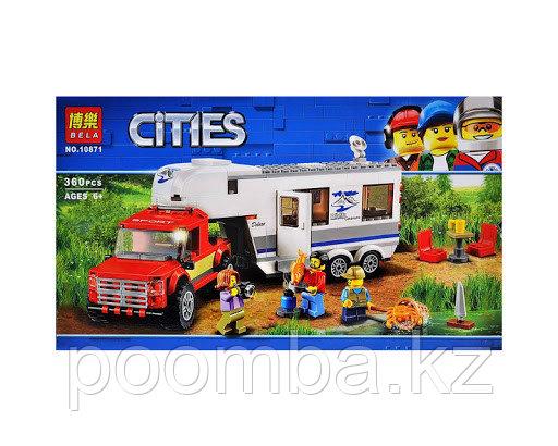 "Конструктор BELA 10871 City ""Дом на колесах"" (аналог LEGO)"