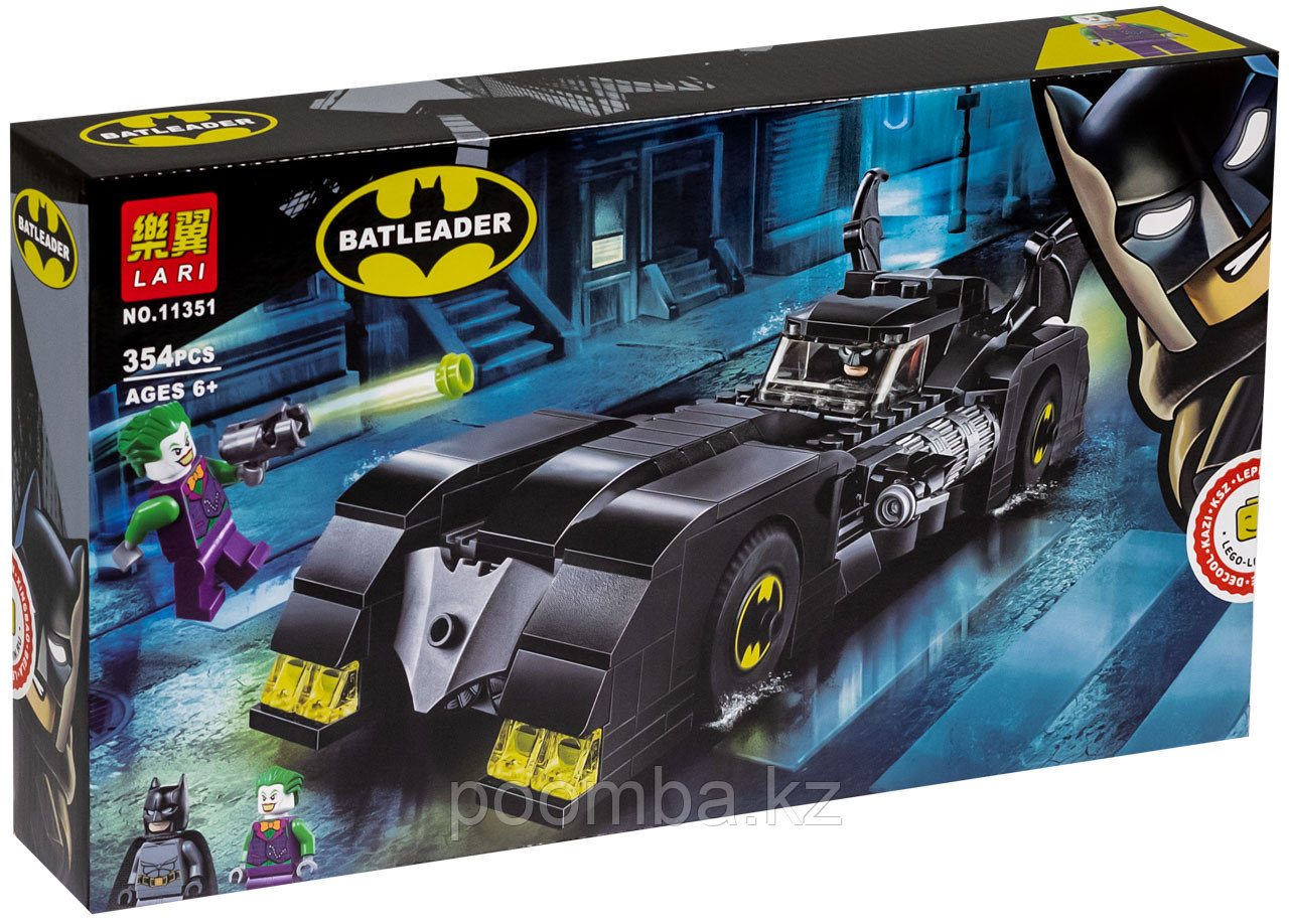 """Конструктор 11351  Бэтмобиль """"Погоня за Джокером"""" (аналог LEGO 76119)"""