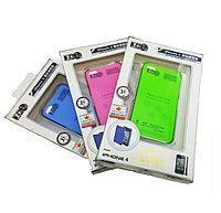 Чехол iphone4, BlackHorns, Cristal Colour shell