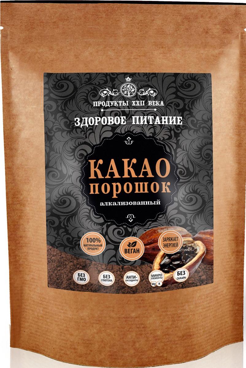 Какао Премиум, порошок алкализованный 100г