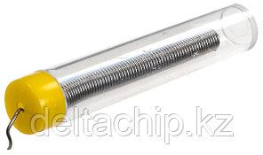 Solder 1.0 mm 20g 63% Sn  припой проволочный 1мм канифоль