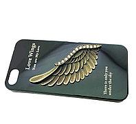 Чехол iphone5, Zippe, Love Wings, металлический, фото 1