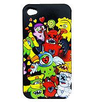 Чехол Iphone4, BlackHorns, Policarbonate case, фото 1