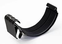 Соединитель желоба 125 мм RAL 8017 Коричневый