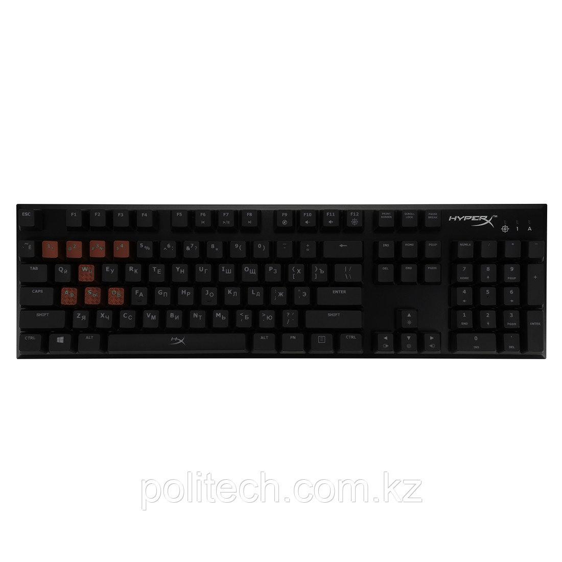 Клавиатура HyperX Alloy FPS Mechanical Gaming MX Red HX-KB1RD1-RU/A5