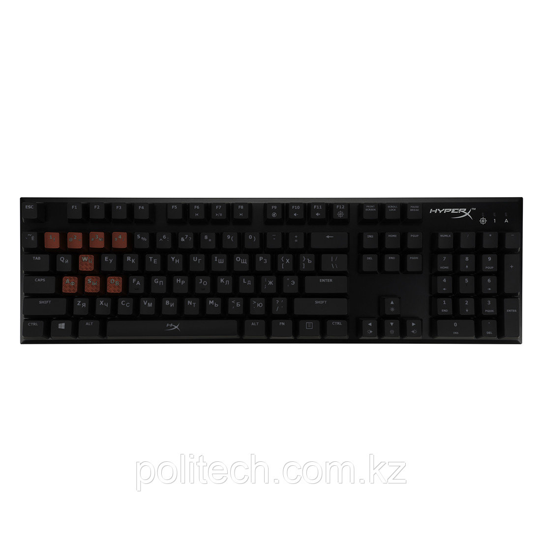 Клавиатура HyperX Alloy FPS Mechanical Gaming MX Brown HX-KB1BR1-RU/A5