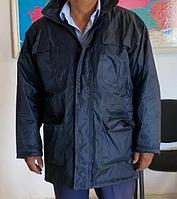 Куртка утепленная синяя