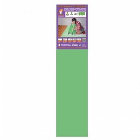 Подложка Солид, Зеленая гармошка, 2 мм