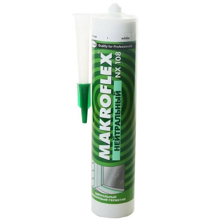 Герметик нейтральный Makroflex NX 108