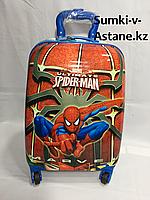 Детский дорожный чемодан для мальчика с 4-х до 7-и лет. Высота 45 см,длина 30 см,ширина 21 см., фото 1