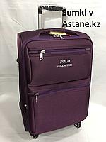 Маленький дорожный чемодан на 4-х колесах Polo Collection.Высота 56 см, ширина 36 см, глубина 24 см., фото 1