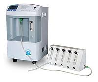 Кислородный концентратор JAY-10 10 литров (РУ РК), с разделителем потока (сплиттер) на 2-5 человек