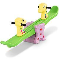 Детская качеля для двоих Жираф QC-08027В