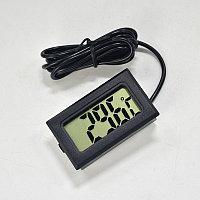 Термометр электронный с выносным проводным датчиком 3 метра, фото 1