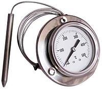Термометр для пицца печей капиллярный из нержавеющей стали 0- 500°C
