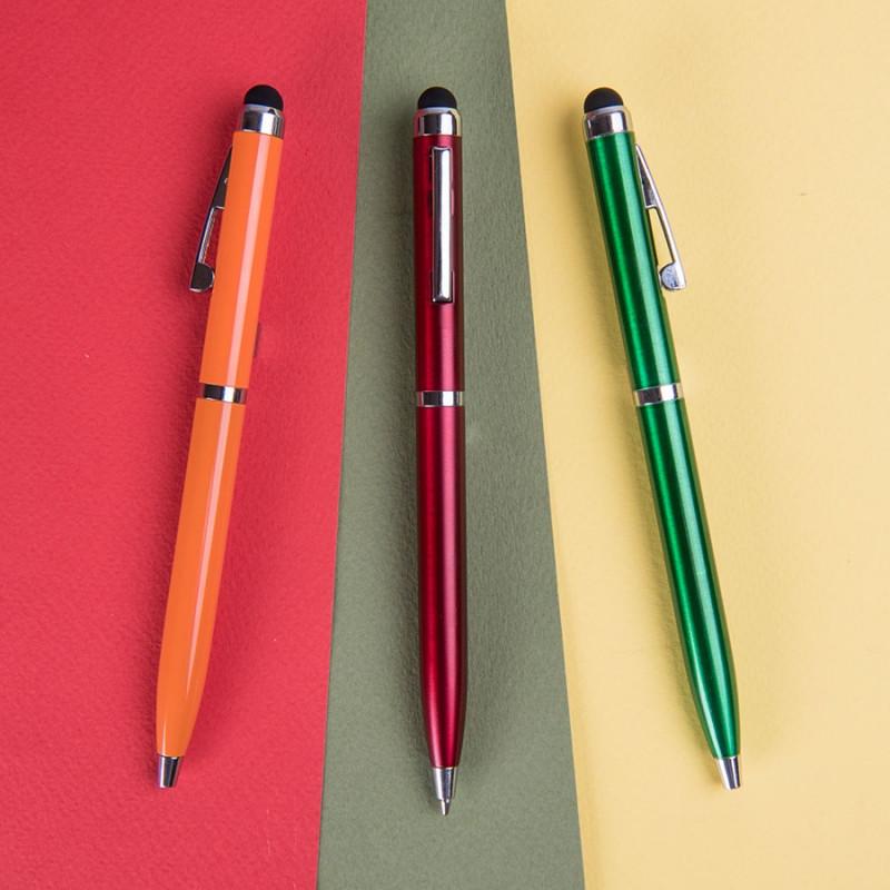 Ручка шариковая со стилусом CLICKER TOUCH, Зеленый, -, 36001 15 - фото 3