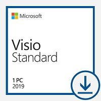 Антивирусы и ПО для компьютера Microsoft Microsoft Visio Standard 2019 Win All Languages Online Product Key License 1 License Downloadable Click to