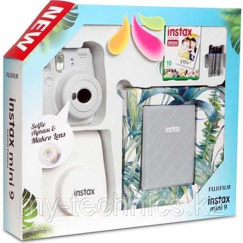 Подарочный набор Fujifilm Instax mini 9 White