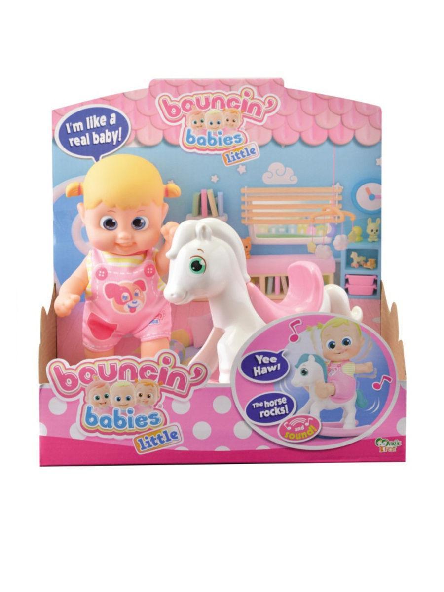 Игрушка с лошадкой-качалкой Bouncin' Babies Бони (16 см)