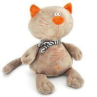Мягкая игрушка 'Кот Батон', цвет серый, 30 см