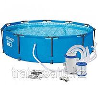 Каркасный бассейн 305х76см с фильтр-насосом Bestway