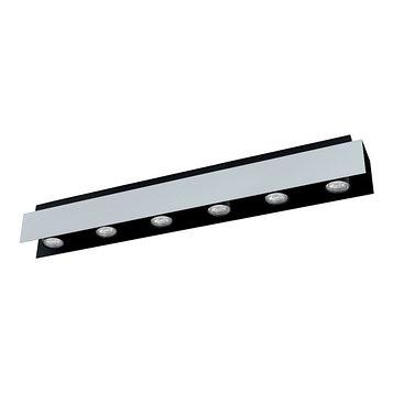 Светильник VISERBA 6x5Вт GU10 белый, черный