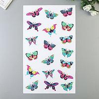 "Наклейки Divino ""Яркие бабочки"" 30х50 см"