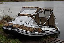 Тент трансформер для надувных лодок., фото 3