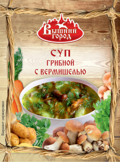 Суп грибной с вермишелью 60гр