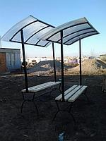 Скамека с крышей