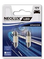 Лампа C5W (0,5W LED 6000K/31mm Двойной блистер В компл. 2шт цена за комплект)