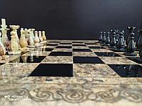 Шахматные фигурки из камней оникс, фото 1