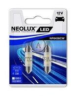 Лампа C5W (0,5W LED 6000K/36mm Двойной блистер В компл. 2шт цена за комплект)