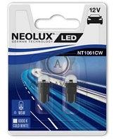 Лампа W5W (5W LED Двойной блистер В компл. 2шт цена за комплект)