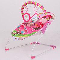 Детский шезлонг La-di-da BR4A-B90034 розовый, фото 1