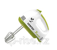 Миксер Centek CT-1111 GREEN (белый/салатовый)