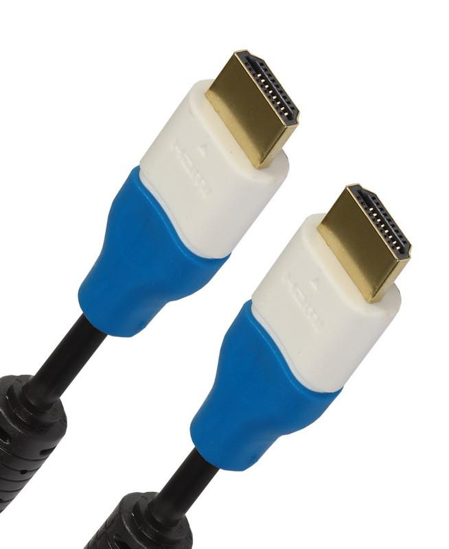 АудиоВидео кабель Smartbuy HDMI - HDMI ver.1.4b A-M/A-M, 1,5 m